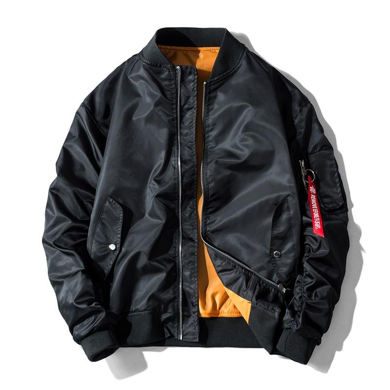 Men Bomber Flight Jacket Pilot Air Force Motorcycle Race Coat Gift Idea