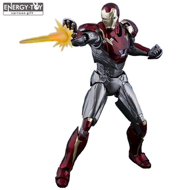 SpiderMan Homem De Ferro Avengers Mk47 Regresso A Casa Infinito Guerra Ironman Mark47 PVC action figure boneca de brinquedo modelo