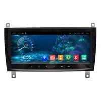 8.8 Android Car Stereo Audio Head Unit Headunit Autoradio for Mercedes Benz C CLK W203 C200 C230 C320 CLK350
