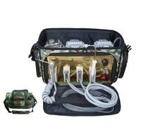 BD 401 удобный портативный Зубные Блок с воздушный компрессор всасывания системы 3 Way шприц 4 H