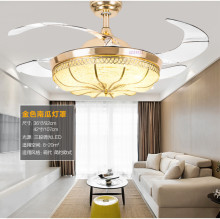 36inch 42inch 3 color dimming contro ceiling fan light restaurant electric lamp simple household bedroom living room85-265v