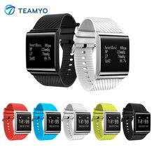 Teamyo X9Plus смарт-наручные часы крови кислородом сердечного ритма умный Браслет фитнес-трекер Шагомер для IOS Android SmartBand