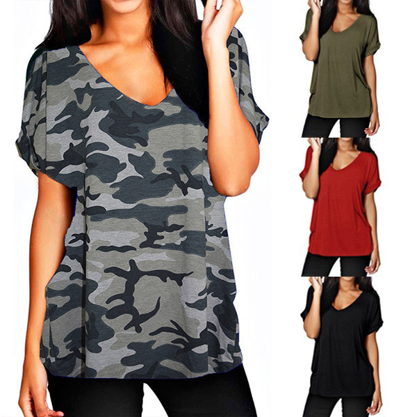 Well-Educated 7 Color Women T Shirt Short Sleeve V Neck Casual Baggy Tee Shirts Cotton Tshirt Summer Ladies Tee Tops Plus Size 5xl 2019 Tops & Tees Women's Clothing