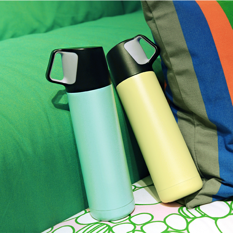 High Quality Double Wall Stainless Thermos Cup Vacuum Bottle Thermocup Thermal Mug Insulated Tumbler Tea Coffee