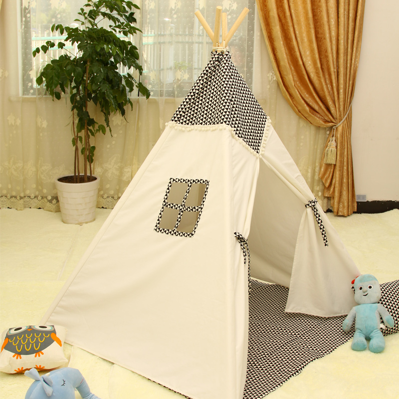foldable kid indoor tent kids outdoor playhouse Play Tent Game House Indian Teepee & Online Get Cheap Indoor Indian Tent -Aliexpress.com | Alibaba Group