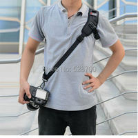 Focus F 1 Quick Rapid Shoulder Sling Belt Neck Strap For Camera SLR DSLR Black D700