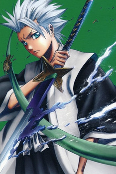 Bleach 10th Division Captain Toshiro Hitsugaya Cosplay Costume Free Shipping for Halloween and Christmas