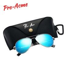 Бренд Pro Acme, маленькие поляризованные солнцезащитные очки для детей и молодежи, для взрослых, маленькое лицо, для женщин, мужчин, юниоров, пилот, солнцезащитные очки, 52 мм, PA1053