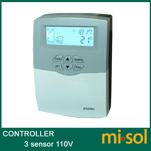 110V controller of solar water heater, for separated pressurized solar hot water
