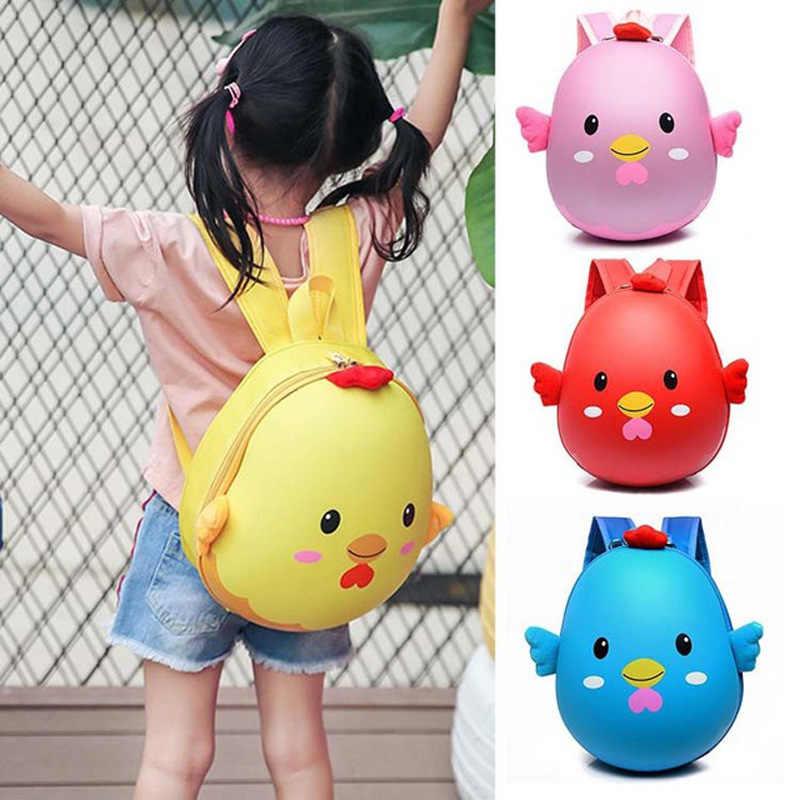 Bokinslon красивый детский рюкзак с мультяшным рисунком, жесткий школьный рюкзак для детей, повседневный модный рюкзак для студентов, унисекс