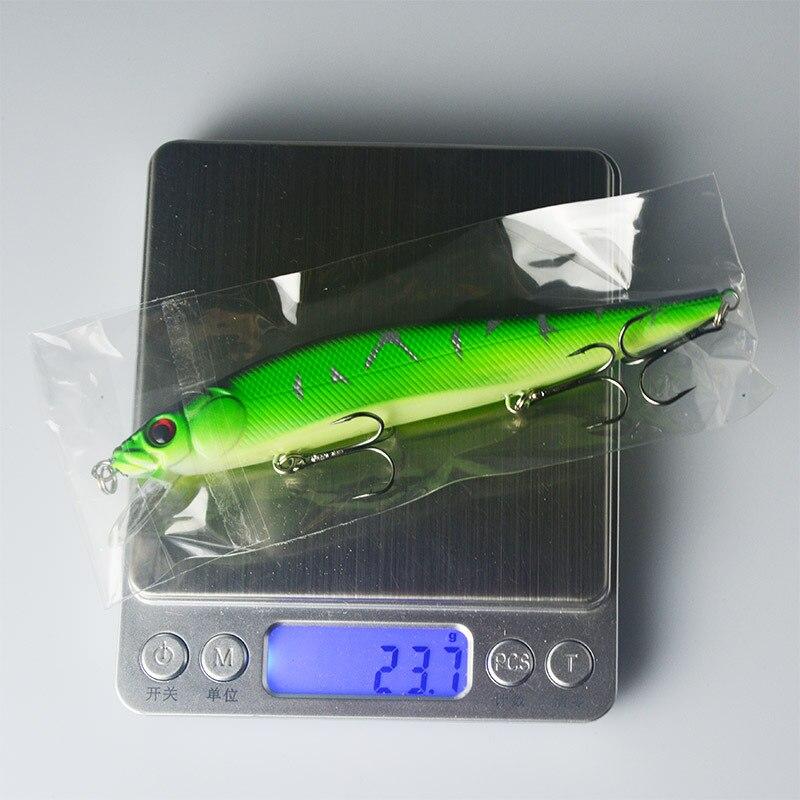 SEALURER Minnow Pesca Señuelo 14cm 23g 2 # Anzuelos Carpa Pesca - Pescando - foto 6