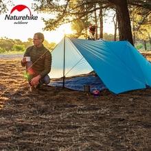 Naturehike Outdoor Camping Survival Sun Shelter Multi-person Sunshade Ultralight Portable Shelter Waterproof Beach цены онлайн