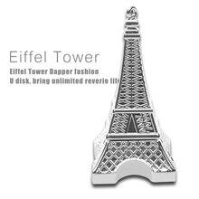 Free shipping The Eiffel Tower Shape 8GB 16GB 32GB 64GB Usb Flash Memory Thumb pen drive U Disk Stick