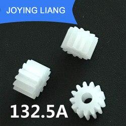 132.5A módulo 0,5 13 dientes 2,5mm eje apretado Pom engranaje de plástico juguete engranajes modelo (5000 unids/lote)