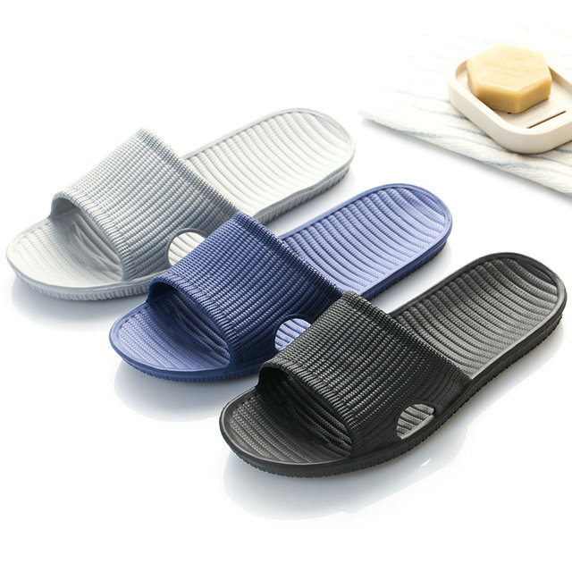 Cheap Price New Summer Home Bathroom Slippers Indoor Anti Slipper Soft Bottom Family Woman Man Slippers (12)