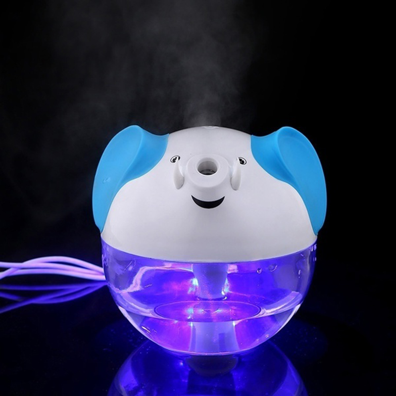 USB Humidifier Portable Elephant Ultrasonic Air Essential Oil Purifier Aroma Diffuser Pink white green For Car Kids Gift one green elephant футболка