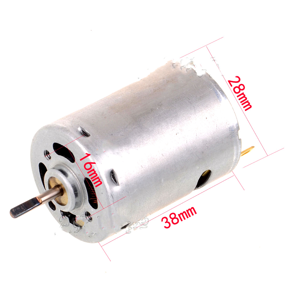 Free Shipping Rs380 380 Brushed Motor For Rc Model