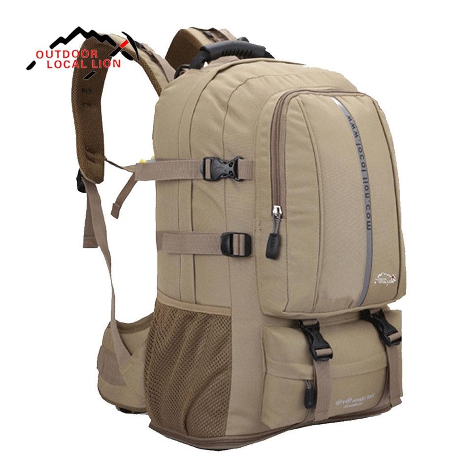50L Кемпинг Альпинизм рюкзак для путешествий рюкзак лагерь Mochilas Masculina Ноутбук Обратно сумки рюкзак