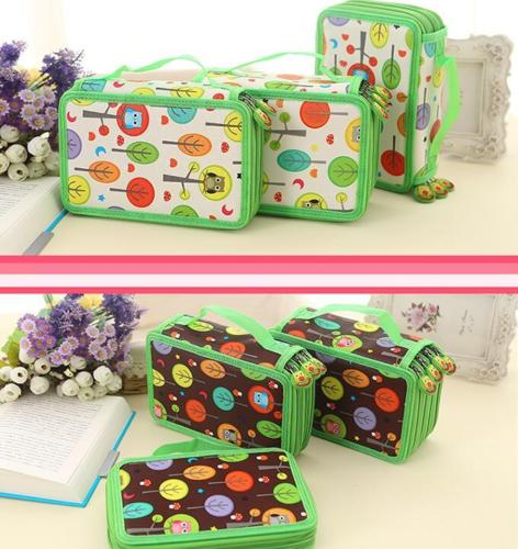 2 3 4 Layers 72 52 32 Holders Pencil Case Kids Cute Owl Dazzle Colour Cardboard PencilCase School Stationery Box Children Gift one piece carton metal pen pencil holders double layers storage box stationery gift for children