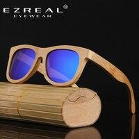 EZREALแฮนด์เมดR Etroไม้กรอบแว่นกันแดดP Olarizedแว่นตาสะท้อนแสงที่มีสีสันเลนส์ผู้ชาย/ผู้หญิงแว่นตากัน...