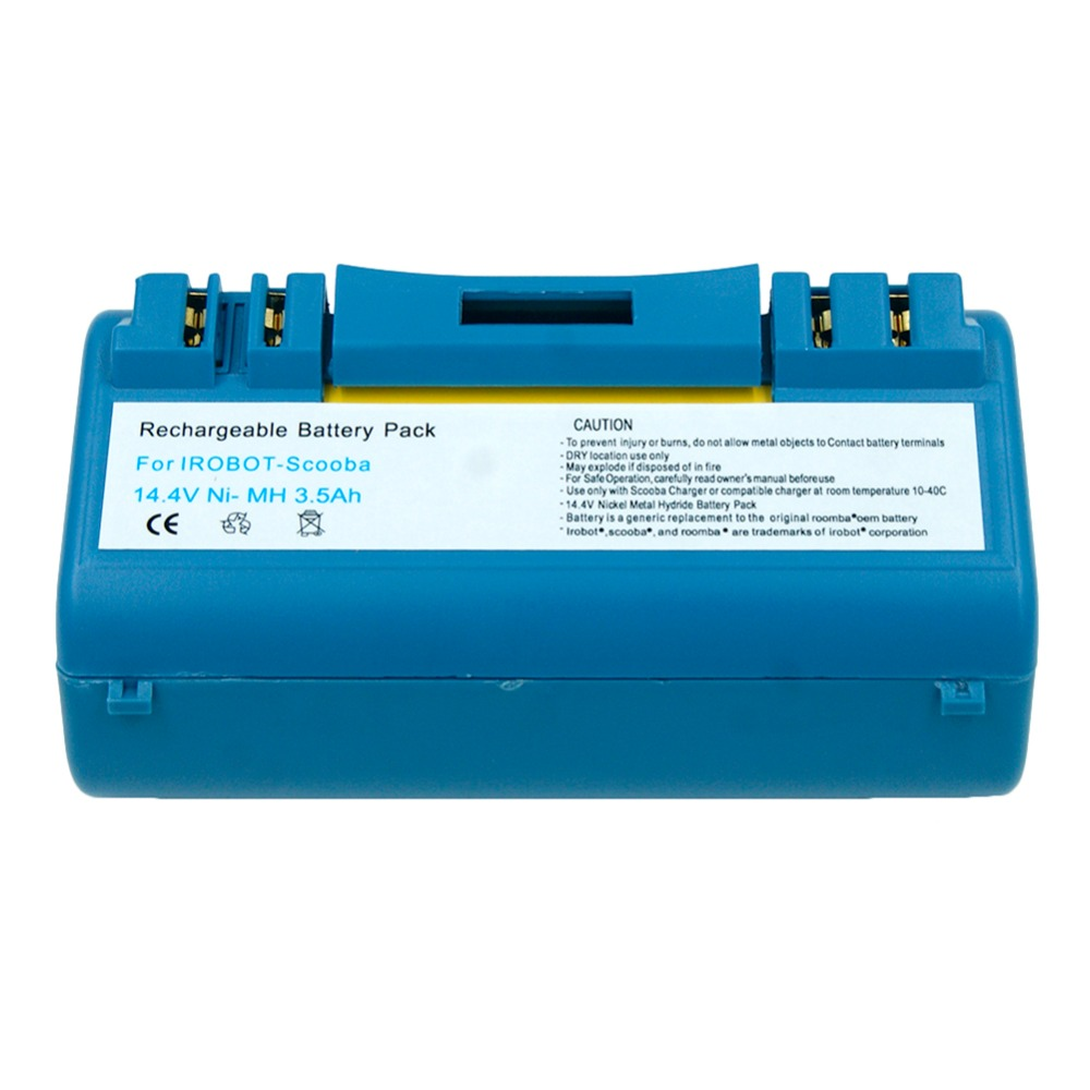 14.4V 3.5Ah Ni-MH Rechargeable Battery For iRobot Scooba Cleaner 330 340 350 380 5800 5900 6000 APS 14904 SP385-BAT SP5832