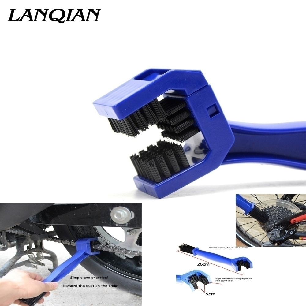 Universal Motorcycle Multifunction Bike Chain Maintenance Cleaning Brush <font><b>For</b></font> <font><b>YAMAHA</b></font> YZF <font><b>R6</b></font> YZFR6 2005 2006 2007 <font><b>2008</b></font> 2009-2016 image