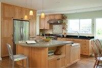 2017 Новый Топ Кухонный Шкаф Настроить Кухня Мебель Классическая Кухня Бесплатная DesignSolid Древесины Незавершенного Кухонные Шкафы