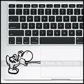 """Голодные Йоши Винил ноутбука Трекпад Наклейка для Apple MacBook Air Pro 11 """"13"""" 15 """"сетчатки Компьютер Тачпад Ноутбука Наклейку Кожи"""