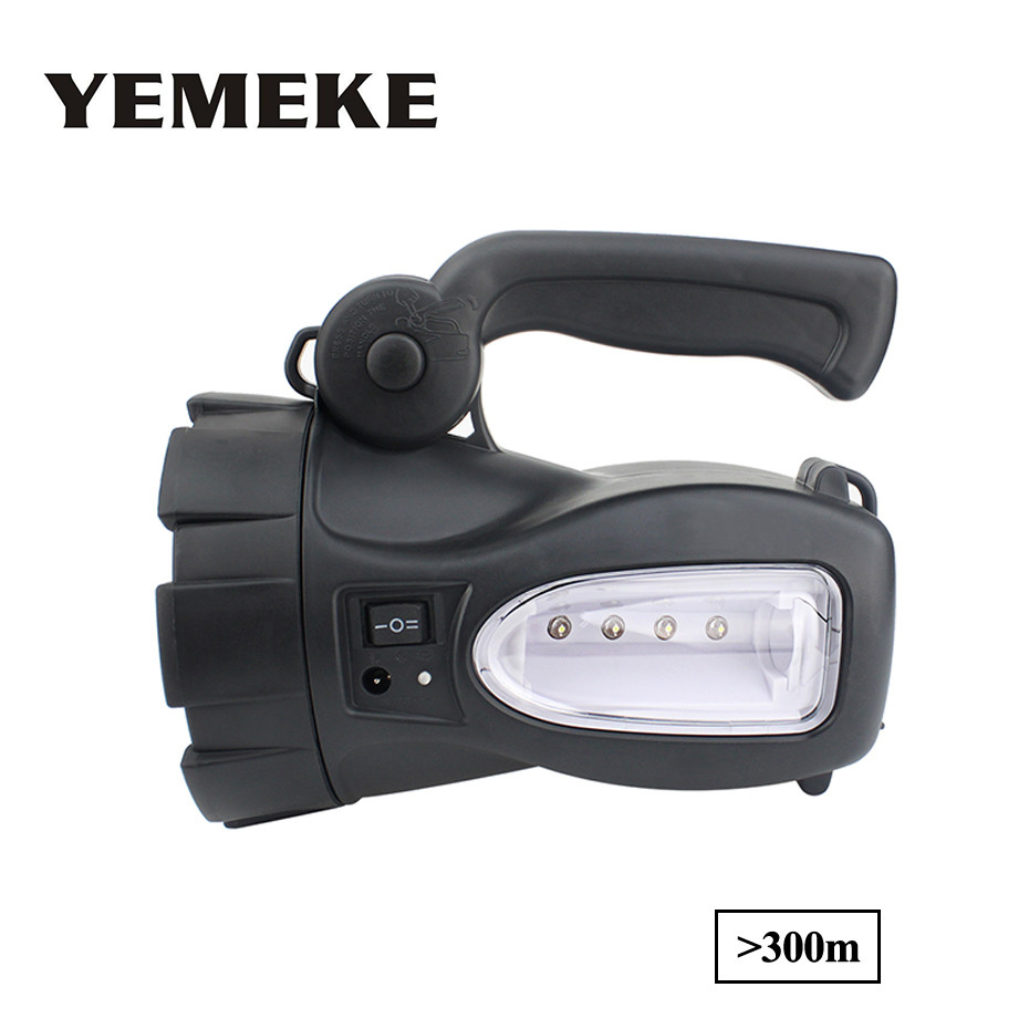 LED Search Light Rechargeable Hand Held Spotlight Camp Lantern Torch Flashlight