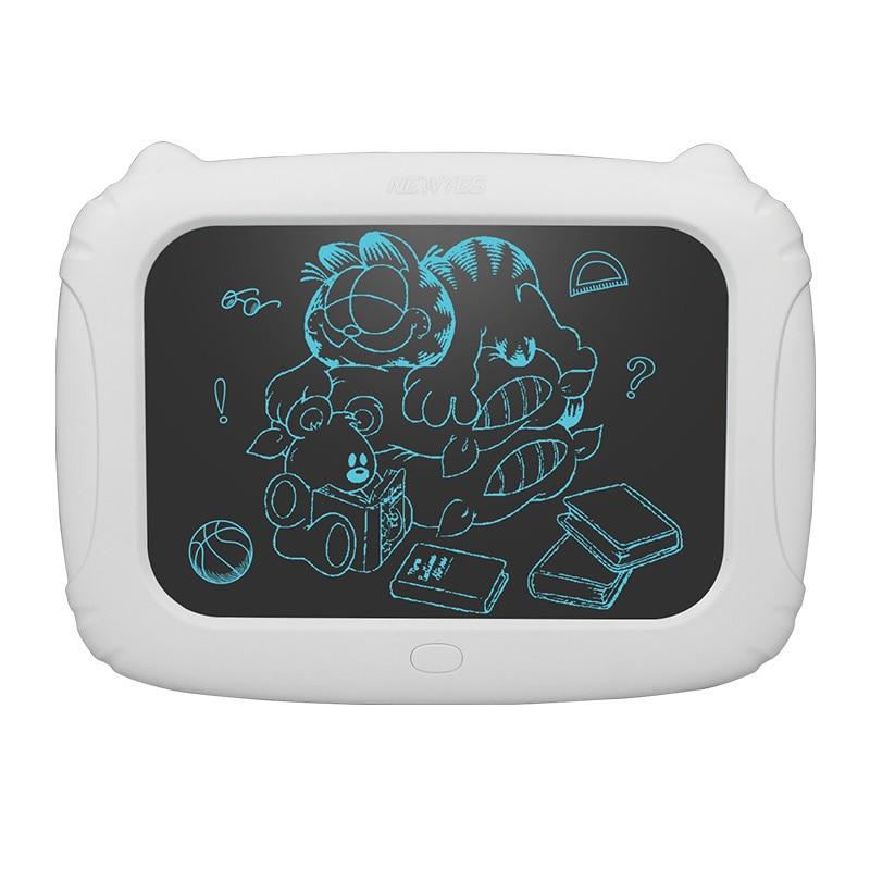 NEWYES 9 pulgadas inteligente LCD escritura Tablet electrónicos bloc de dibujo Placa de gráficos, con pluma de aguja, con batería de regalo para los niños