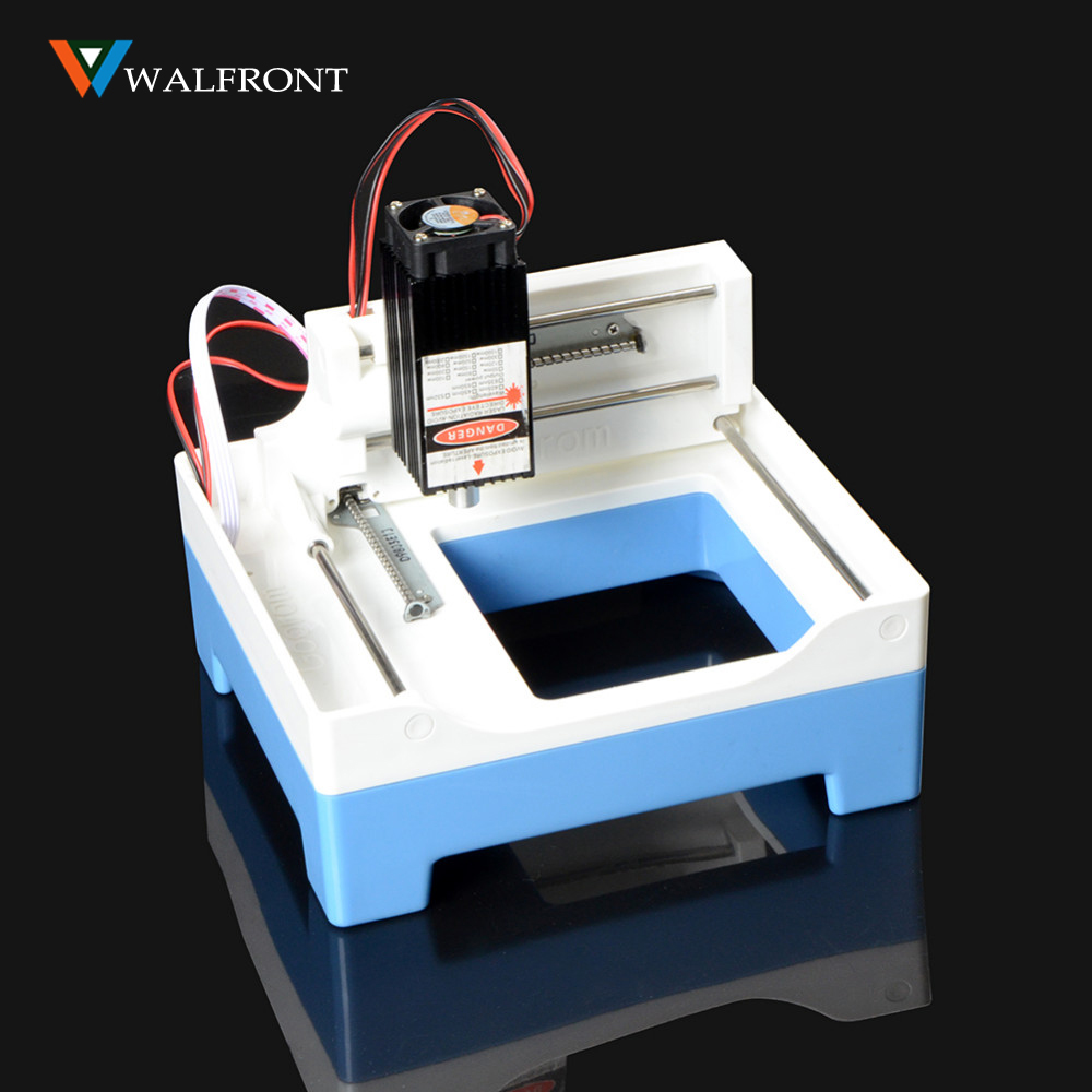 New 2000WM Laser Engraver Engraving Machine DIY Laser Cutting Engraver Printer For Paper Wood Plastic Phone Case CNC Operation blue laser head engraving module wood marking diode 2 5w glasses circuit board for engraver wood metal plastic carving mayitr