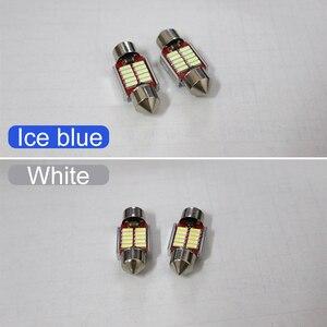 Image 5 - 5x festoon 31mm c10w led lâmpada interior do carro luz kit dome lâmpadas de leitura luz tronco para mazda CX 5 cx5 ke kf 2012 2018 2019 2020