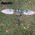 Уличные охотничьи приманки с дистанционным управлением  6 в  пластиковое зеленое крыло  Чирок  ловушка для охоты