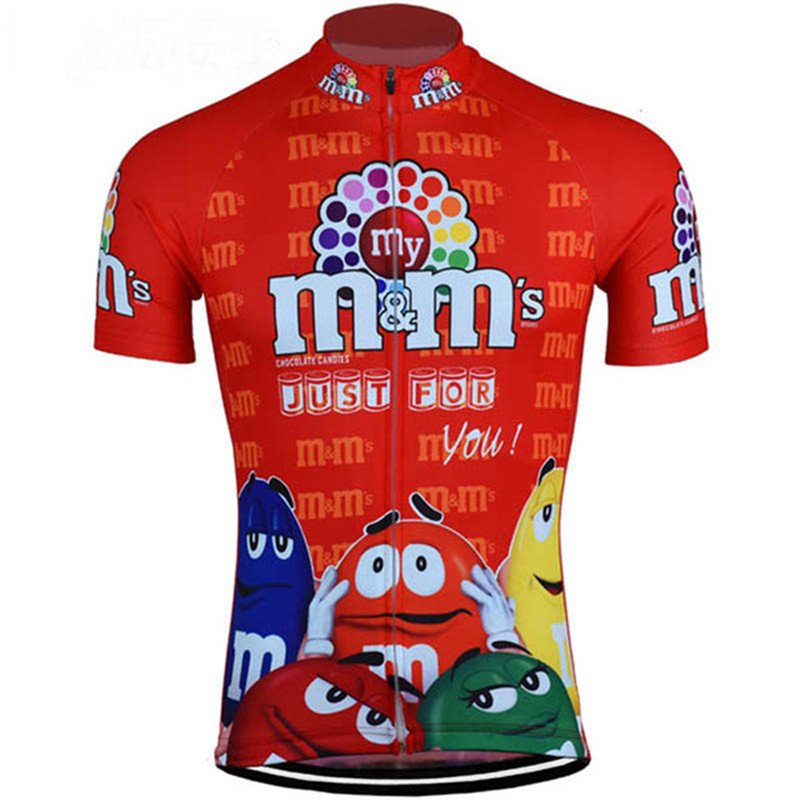 0d1fbebc Funny 7 colors Cycling Clothing Summer Cycling Jerseys Bicycle top Shirt