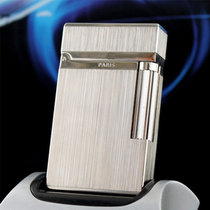 Image 3 - 100% New vintage dupont bright sound gas lighter windproof copper body for cigarette