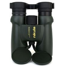 Poderoso binóculos nikula 10x42 telescópio lll visão noturna à prova dwaterproof água nitrogênio cheio central zoom portátil bak4 para a caça