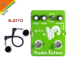 JOYO JF-12 Voodoo Octave classic guitar effect pedal with fuzz rock metallic  недорого