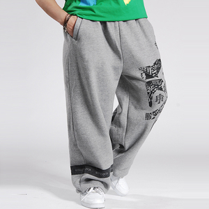 Image 3 - 2020 แฟชั่นบุรุษJoggersพิมพ์DesignerชายBaggy Hip Hop JoggerกางเกงเปิดAir SweatpantsกางเกงPantalon Homme B85