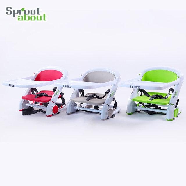 Portable High Chair Folding Baby Booster Seat Dinner Chair For Children To  Eat Simple Tables And Chairs Multifunction Out Seat