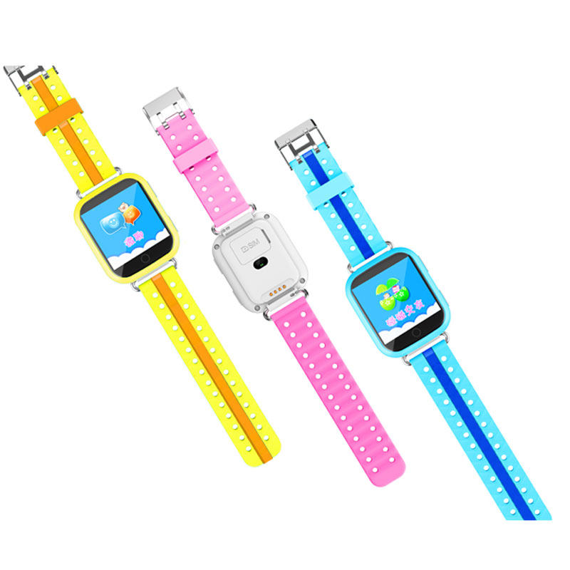 ФОТО GPS smart watch Q750 baby watch with Wifi 1.54inch touch screen SOS Call Location Device Tracker for Kid Safe Anti-Lost Monitor