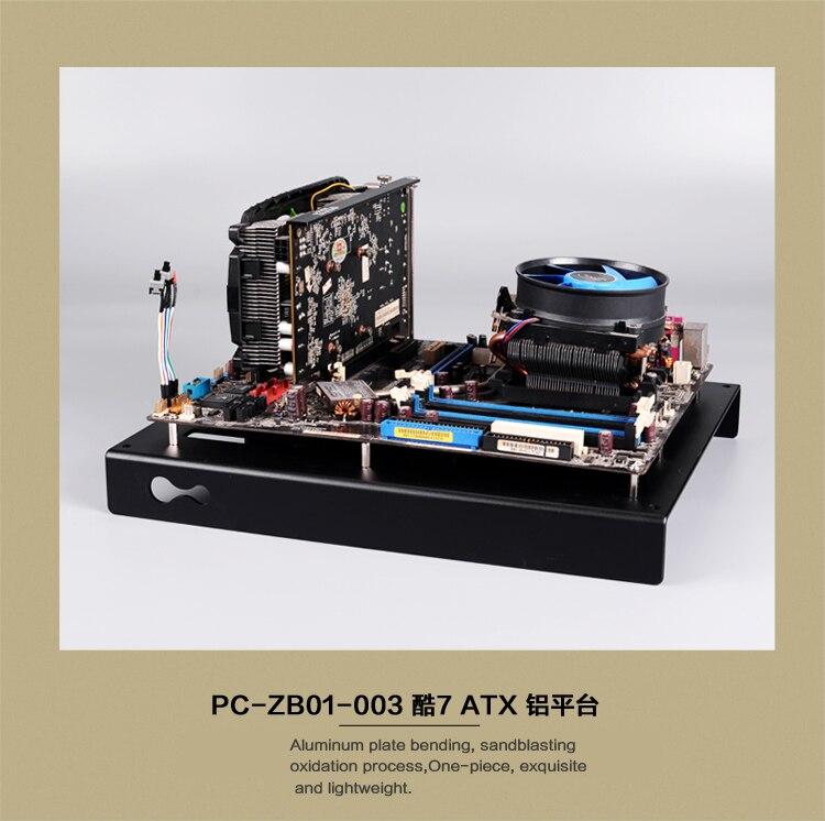 Banco de teste de computador caixa quadro