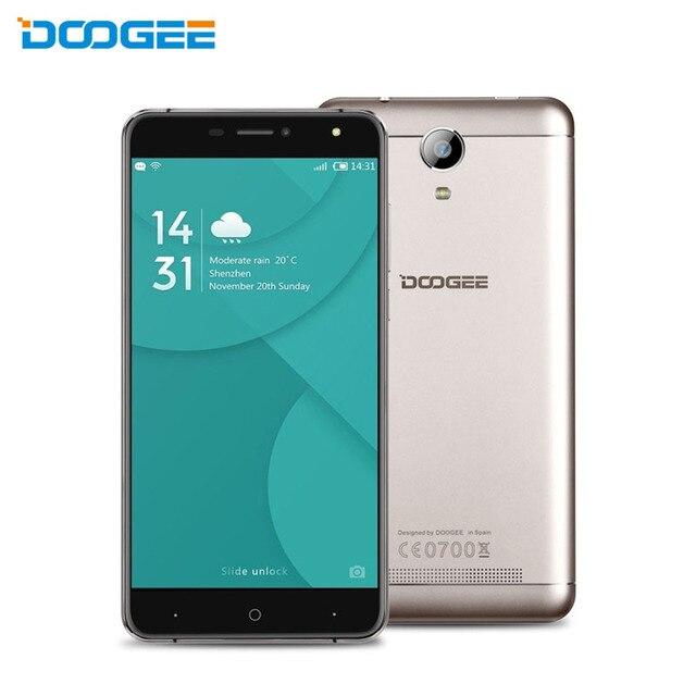 Оригинал Doogee X7 MTK6580 Quad Core Android 6.0 Смартфон 6.0 Дюймов HD ОЗУ 1Гб ПЗУ16Гб с OTG OTA Dual SIM 3G WCDMA