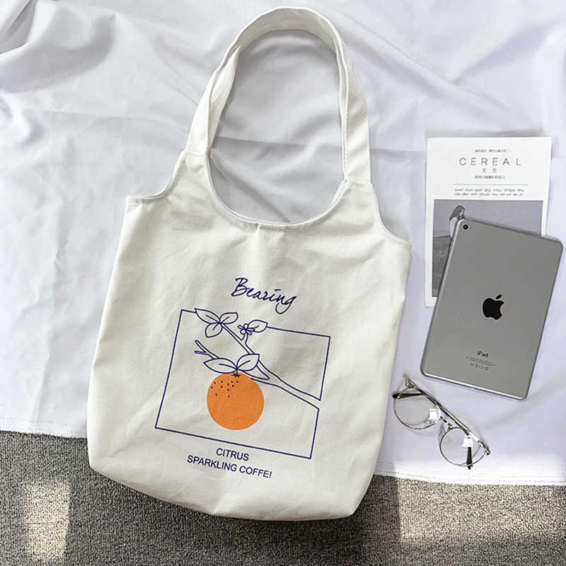 7261573022c5 ... Женская Холщовая Сумка Большая емкость Хлопок хозяйственные сумки  женские сумки складные многоразовые пляжные сумки ...