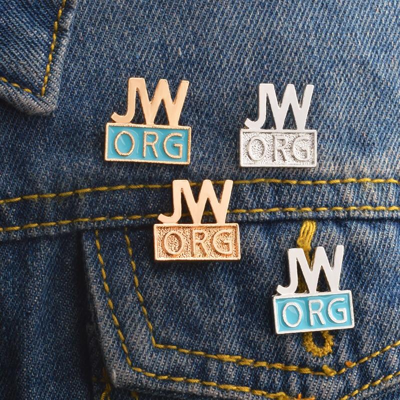 QIHE-SIERADEN-JW-ORG-Pins-Jehovah-s-Getuigen-Christian-reversspeldjes-Badges-Broches-voor-mannen-vrouwen-unisex