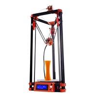 Kit de Impressora Delta 3D Flsun Área de Impressão 180*180*315mm Com Impressora de Cama Aquecida Auto Nivelamento 3D kit Um Rolo PLA|Impressoras 3D|   -