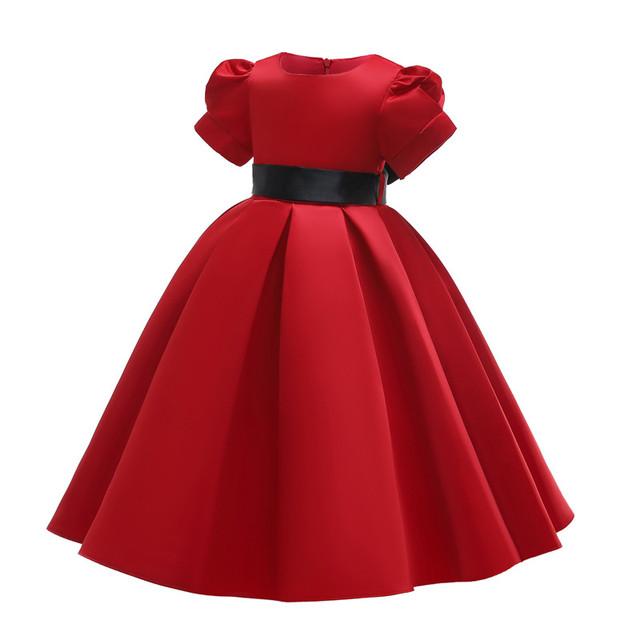 Princess Flower Girl Dress Summer Tutu Wedding Birthday Party Dresses For Girls Children's Costume New Year kids clothes