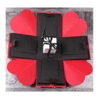Adeeing Creative DIY Explosion Box Love Memory Photo Album as Birthday Anniversary Gifts New Year