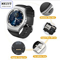 MKUYT V365 Bluetooth Smart Watches Full Circle Touch Screen Sport Fitness SIM Card For iphone 6 6s Apple IOS Android pk DZ09 A1