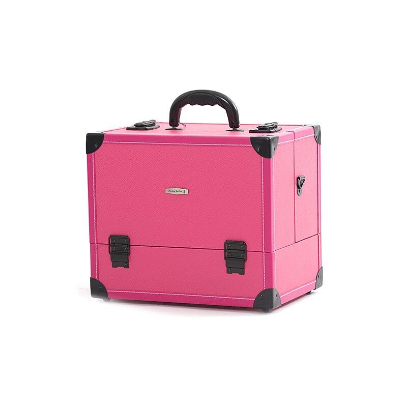 Organisateur de maquillage pas cher avec bretelles professionnel Portable maquillage boîte de rangement sac cosmétique étui organisateur sac cosmétique