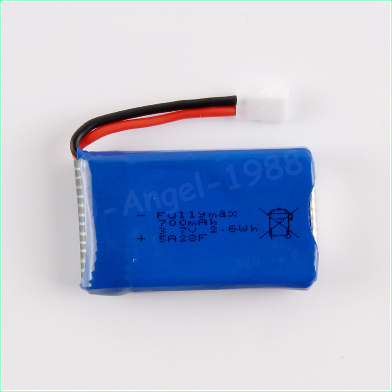5pcs lot 3 7V 700Mah Lipo font b Battery b font For Cheerson CX 30W CX